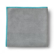 EnviroCloth®, graphite with turquoise trim